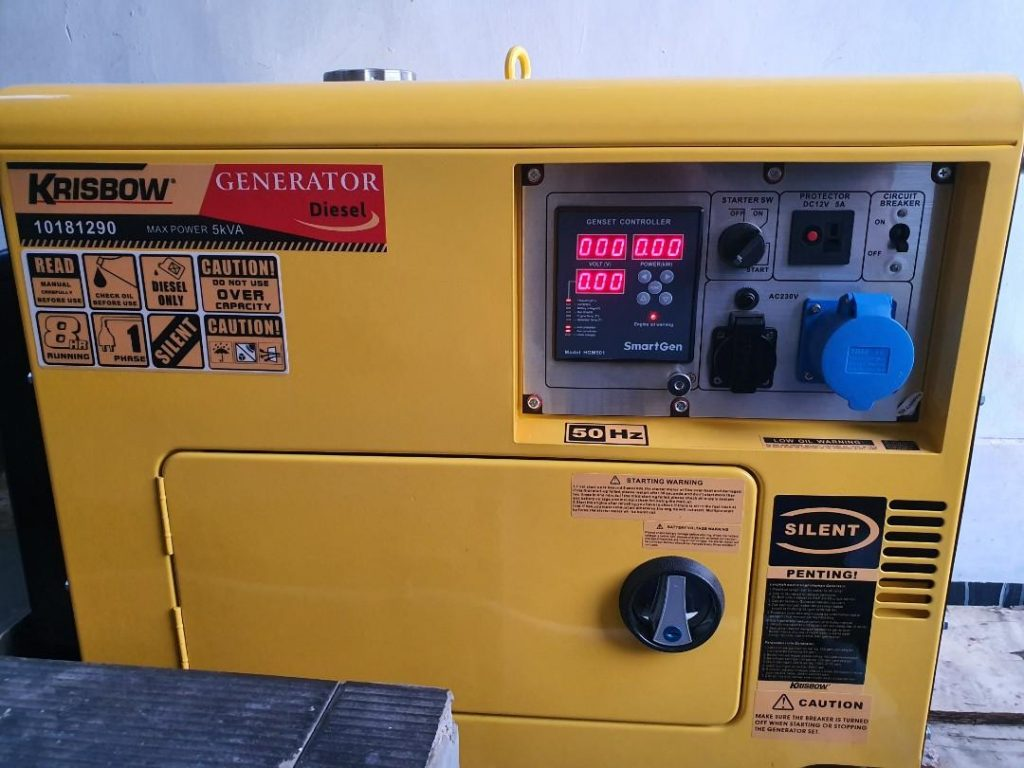 Tips Mengoperasikan Generator Set yang Benar